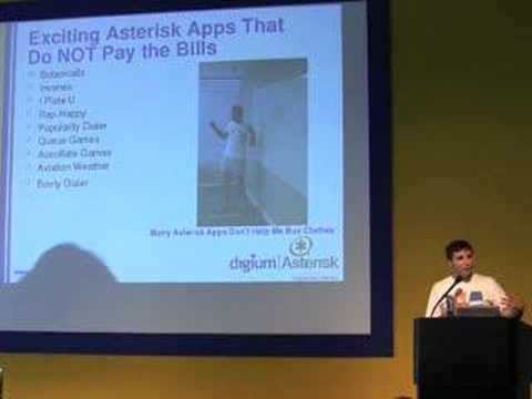 Mark Spencer (Keynote at Asterisk-Tag.org) - 1/5