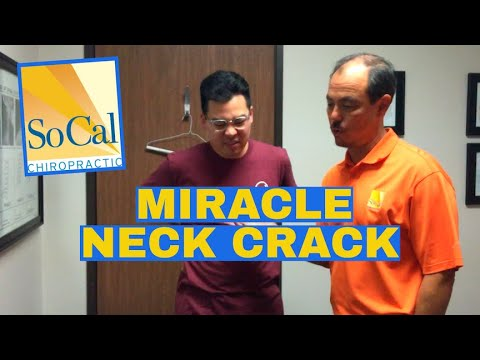 Everything HURTS! Watch this CHIROPRACTIC Neck Adjustment MIRACLE!