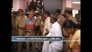Waste Disposal:Open Fight between Counselors and Corporation staffs in Thiruvananthapuram