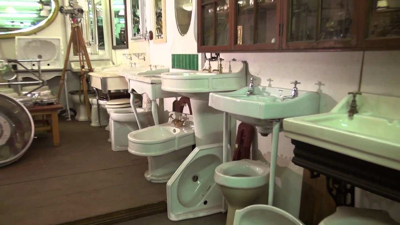 Tynemouth Architectural Salvage - the video tour - YouTube