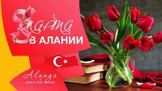 Турция Аланья Махмутлар 8 марта в Алании Поздравляем милых дам с праздником