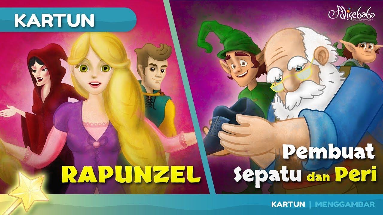 Rapunzel Cerita Anak Anak Animasi Kartun Youtube