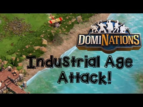 Dominations: Industrial Age Army Destruction!