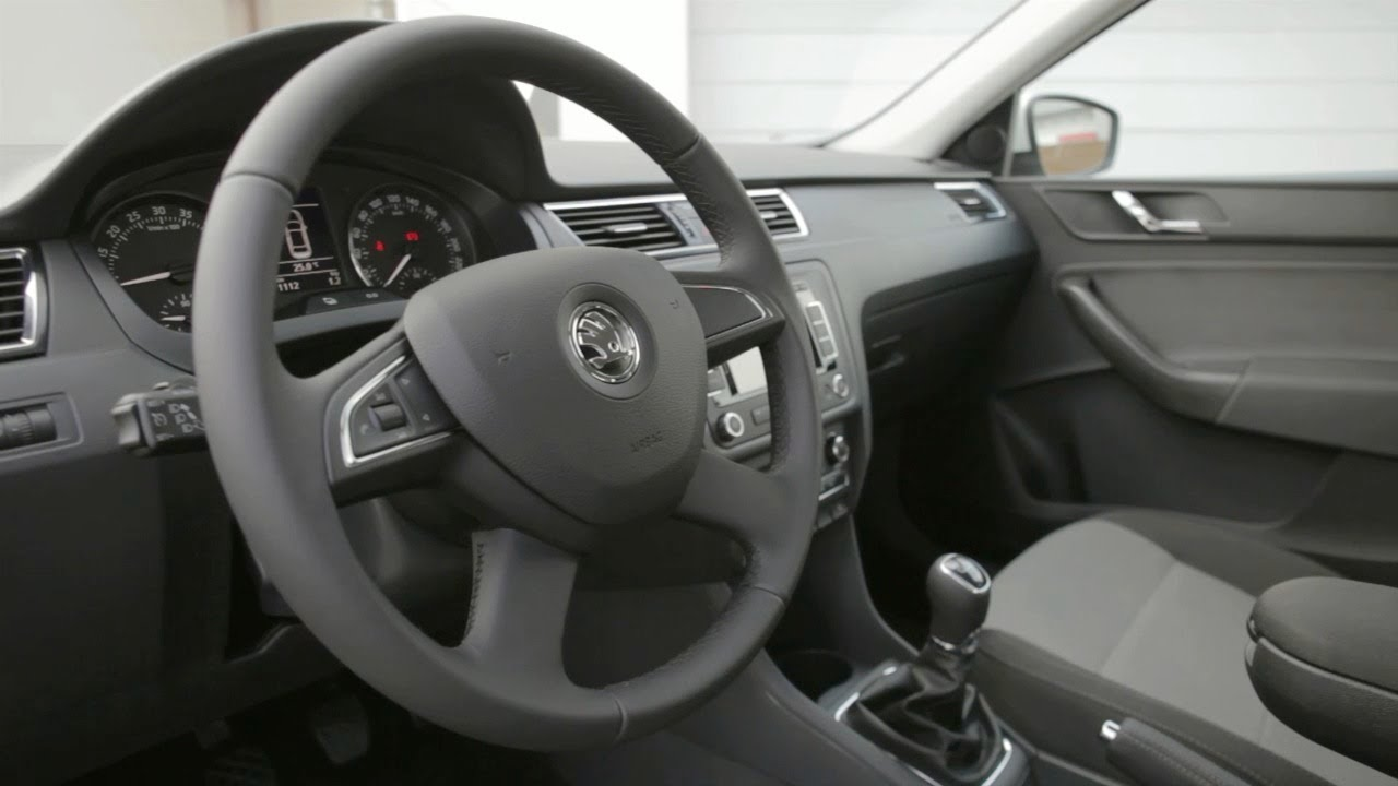 Skoda Rapid 2013 Interior Youtube