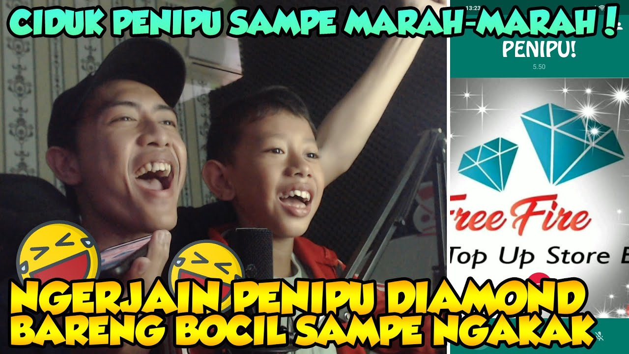 NGAKAK!! NGERJAIN PEN1PU DIAMOND BARENG BOCIL SAMPE MARAH-MARAH!!