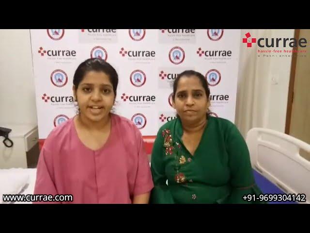 Pt. Divya Lohana (Age-19 Years)   GynaecSurgery   Dr. Vidya Shetty   Currae Hospitals