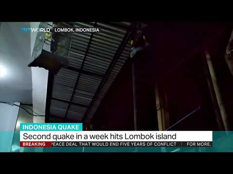 Magnitude 7 quake hits Indonesian island