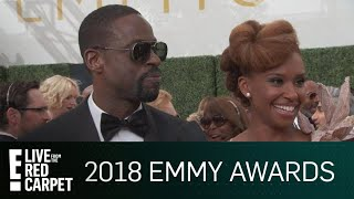 Sterling K. Brown & Bryan Tyree Henry Reminisce at Emmys | E! Live from the Red Carpet
