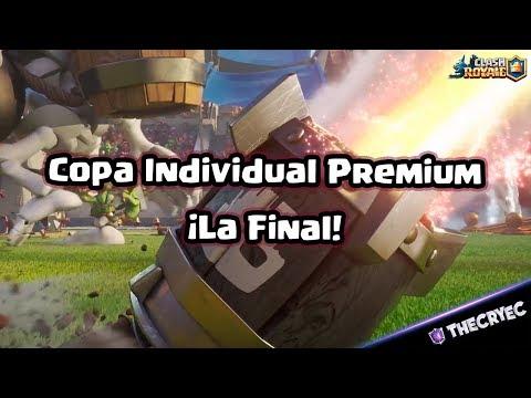 🔴 Copa Individual Premium de Macuco Gaming   La Gran Final   Clash Royale   TheCryEc