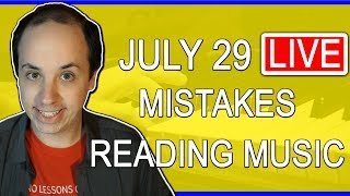 🔴 Common Mistakes Students Make Reading Music