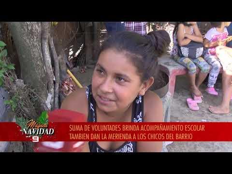Mágica Navidad: conocemos a los chicos de barrio Mosconi Viejo