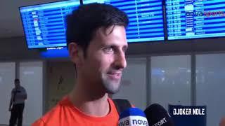 """Novak Djokovic """"I am father of two children's"""" - Greece 2017 (HD)"""