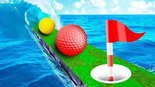 HOLE IN ONE OR DROWN! - Golf It