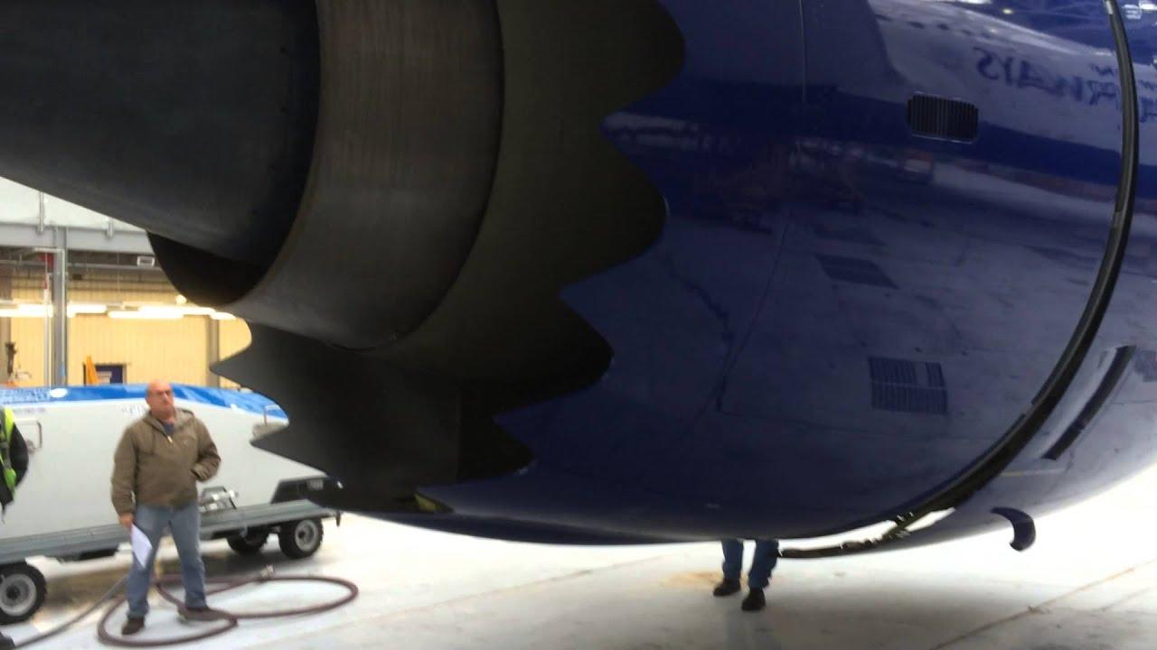 Boeing 787 8 Trent 1000 Thrust Reverser operation