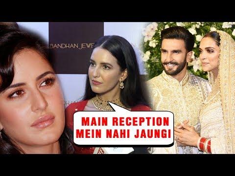 Katrina Kaif's Sister Isabelle Kaif WILL NOT Attend Deepika Padukon Ranveer Singh Mumbai Reception