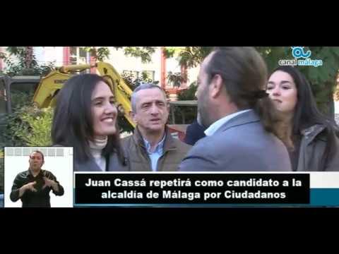 Juan Cassá, reelegido candidato de Ciudadanos a la Alcaldía de Málaga