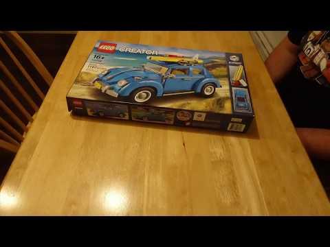 Building the Lego Volkswagen Beetle!