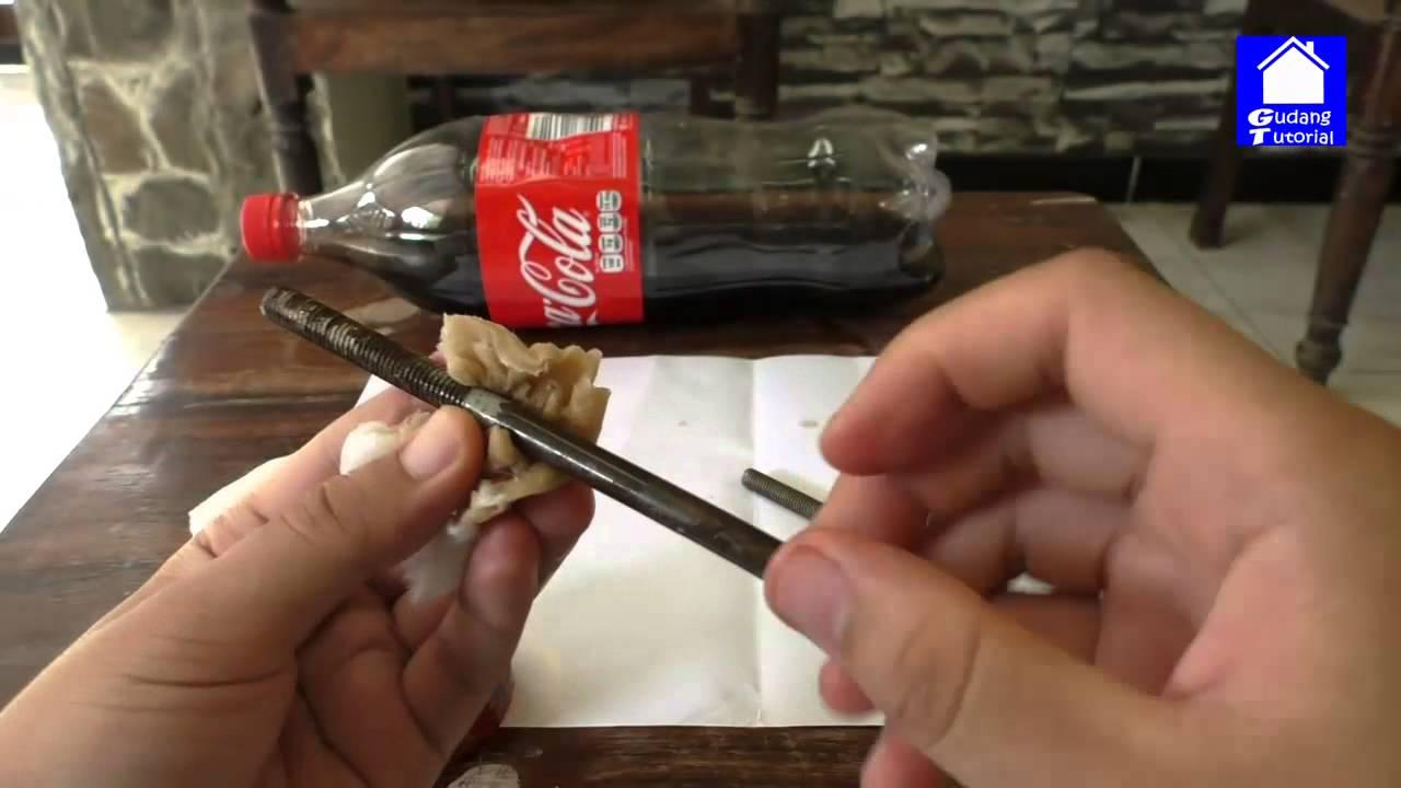 Tutorial Cara Menghilangkan Karat Pada Besi Dalam 5 Detik Youtube