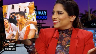Lilly Singh Gave Nick Jonas a FULL Tumeric Scrub