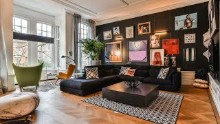 Eclectic House Tour • Black Walls & Colorful Decor • Amsterdam | 🍍 Interior Design