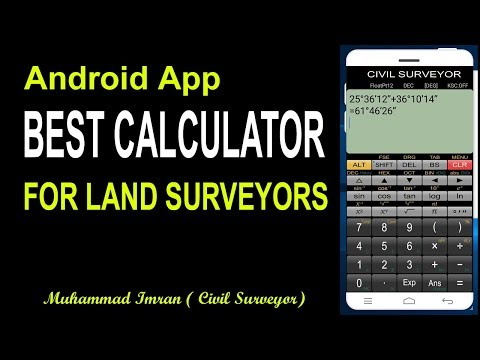 Best Android App|For Land Surveyors|Panical Scientific Calculator