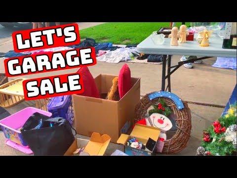 Garage Sale Hunting With Me | Estate Sale Flipping on Ebay | Reseller Ride Along |