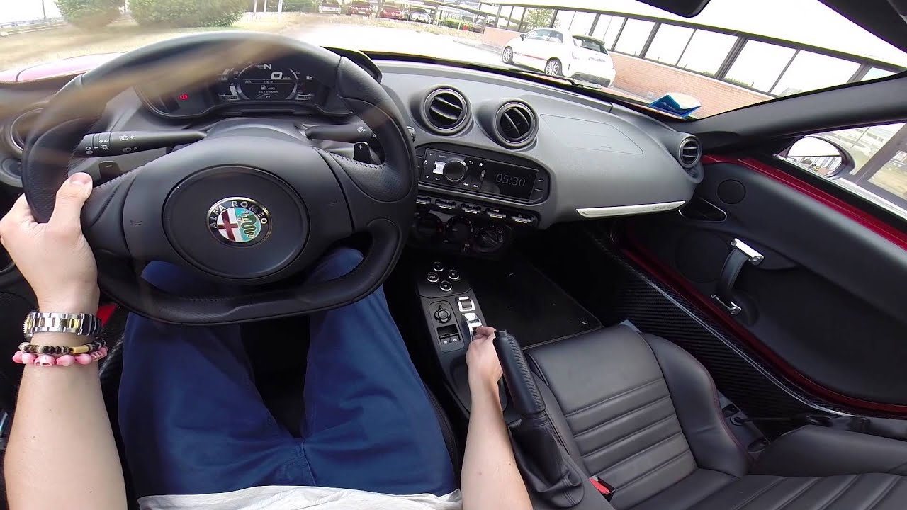 alfa romeo 4c walkaround exterior e interior youtube