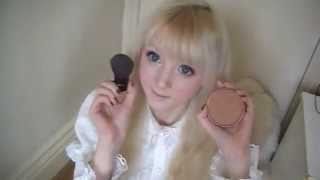 How to look like a doll (make up) - venus angelic