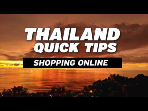 Thailand Quick Tips - Online Shopping Lazada.com - No Credit Card Needed