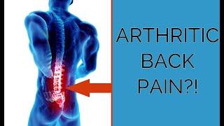 Tim Everett registered Osteopath discusses arthritis & lower back pain