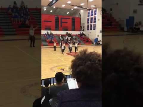 Brooke point high school jv dance team 15-16