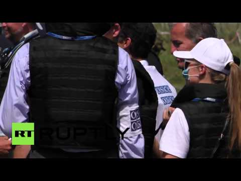 Ukraine: Dutch forensics team arrives at MH17 crash site