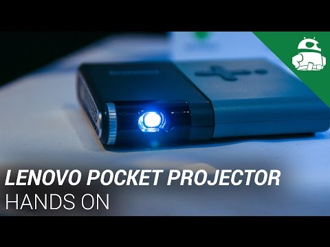Lenovo Pocket Projector Hands On