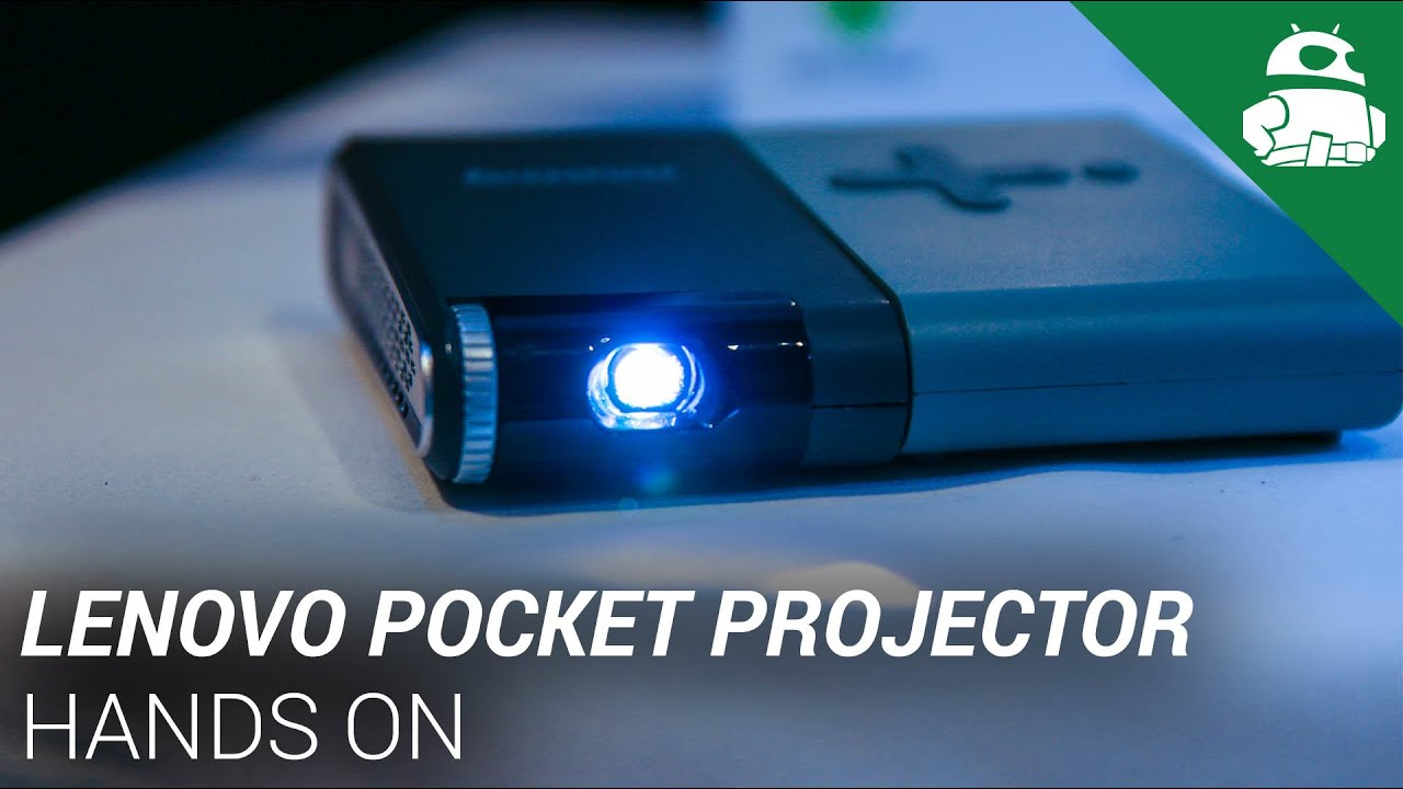 Lenovo pocket projector hands on youtube for A small projector