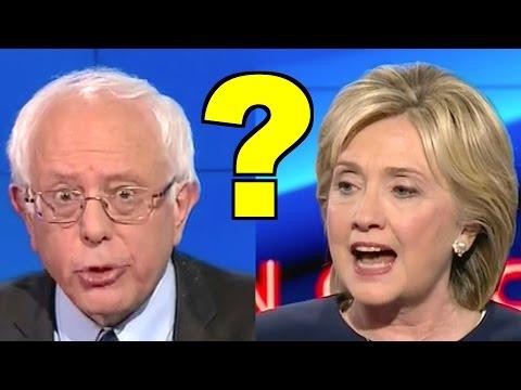 Bernie Sanders Beat Hillary Clinton Debating Edward Snowden, Civil Liberties?