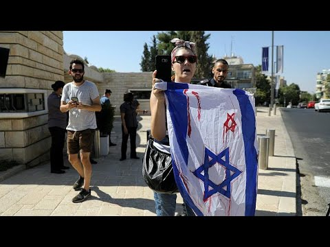 مظاهرات في إسرائيل احتجاجا على زيارة الزعيم الفليبيني دوتيرتي…  - 17:53-2018 / 9 / 4