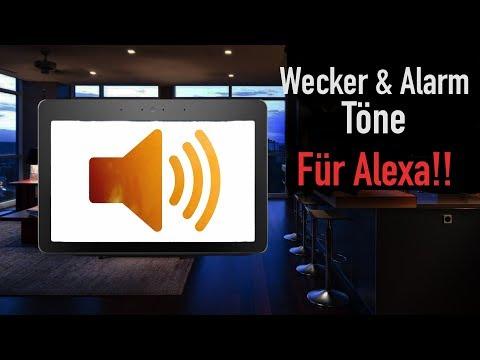 alexa-alarm-&-wecker-töne-einstellen!!