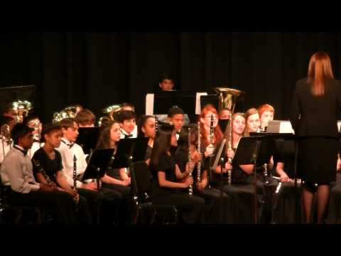 Schilling Farms Middle School Band 8th Grade Spring Concert Pt. 2