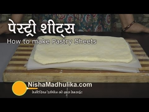 Homemade puff pastry sheets recipes