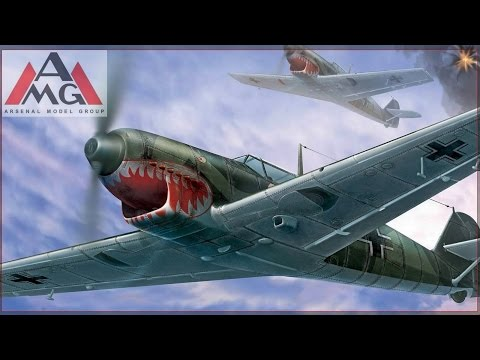 FULL VIDEO BUILD MESSERSCHMITT Bf 109C by AMG.