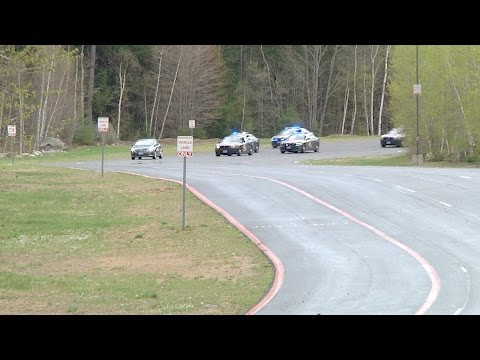 NH State Police chase at NHMS