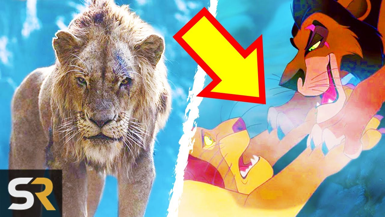 25 Things You Missed In Disney S The Lion King 2019 Youtube