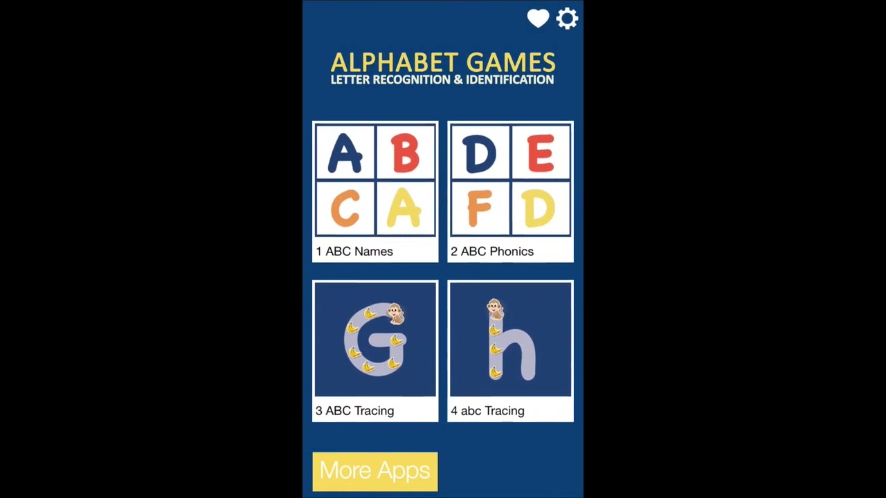 Alphabet Games Letter Recognition And Identification  Youtube