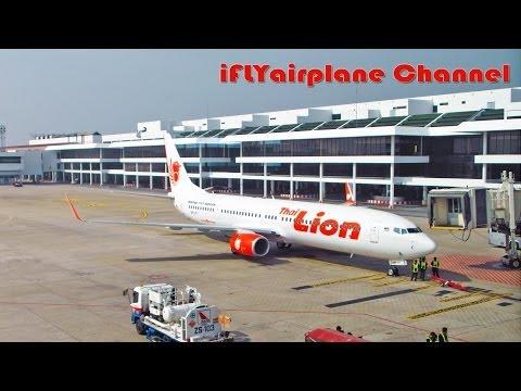 EXTENDED VERSION Thai Lion Air SL8500 14DEC2013 Bangkok (Donmuang) - Chiangmai by B737-9GP/ER