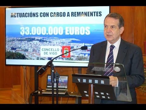 Caballero anuncia la inversión de 33 millones de remanentes en 50 acciones