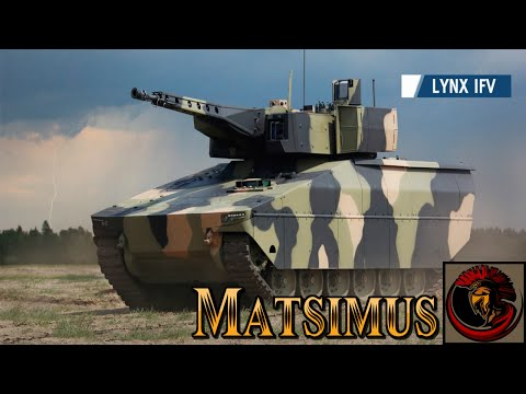 Lynx Infantry Fighting Vehicle - New From Rheinmetall