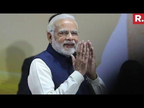 PM Narendra Modi Exposes Pak In Palestine