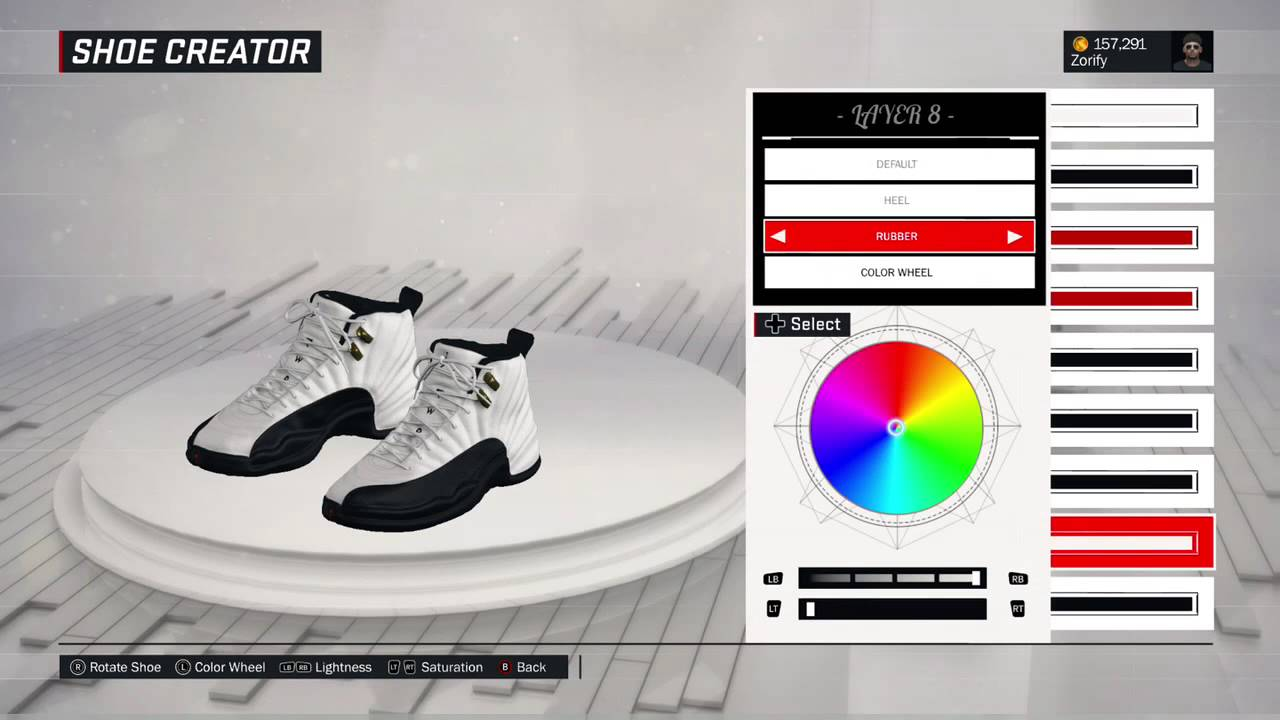 huge discount 9d403 f63e3 NBA 2K17 Shoe Creator - Air Jordan 12