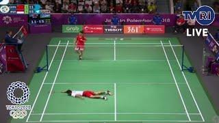 Sedang Berlangsung 🔴 Siaran TVRI Bulu Tangkis Indonesia Olimpiade Tokyo Hari Ini 25 Juli 2021
