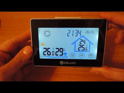 Digoo DG-TH8380 weather station - Part 1